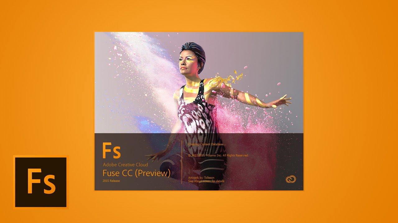Создание собственного 3D персонажа. Знакомство с программой Adobe Fuse CC