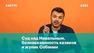 Суд над Навальным, безнаказанность казаков и жулик Собянин