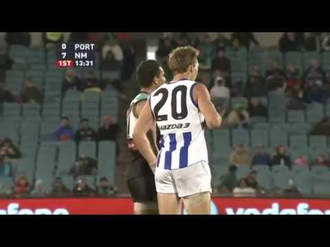 2009 AFL Round 22 Port Adelaide Power v North Melbourne Kangaroos (Full Game)