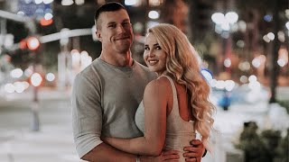 DUAL MILITARY COUPLE DATE NIGHT  Filmed My Dads Engagement Video  Gaslamp District