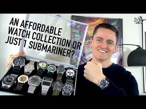 Should You Buy 1 Rolex Submariner Or An Affordable Watch Collection?