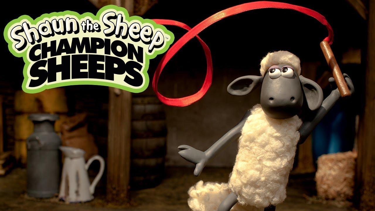 Thể dục nghệ thuật với lụa | Championsheeps | Những Chú Cừu Thông Minh [Shaun the Sheep]