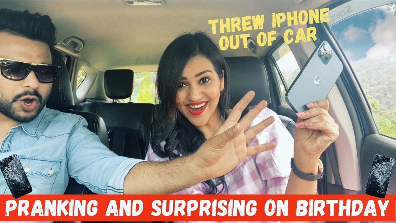 Breaking iPhone Prank then Surprising with Dream Gift on Birthday