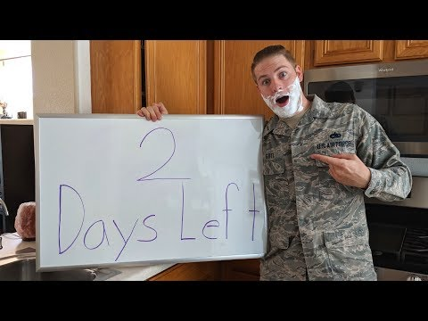 Kyle Gott Leaving the Military in 2 Days