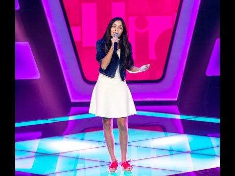 Mayara Cavalcante canta 'Por enquanto' no The Voice Kids - Audições|1ª Temporada