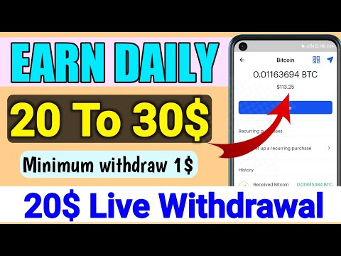 New Online Earning Site 2020 || New BTC Mining Site || 20$ Live Withdrawal Proof, Free BTC Miner