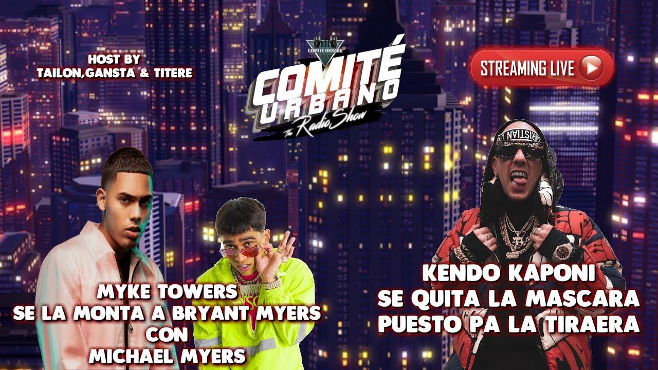 MYKE TOWERS Se la Monta a BRAYNT MYERS | KENDO KAPONI Se Quita la Mascara READY PA TIRAERA
