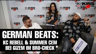 KC Rebell & Summer Cem im Bro-Check bei Gizem!