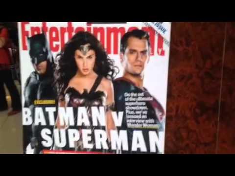Batman v Superman Promo At Hard Rock #SDCC