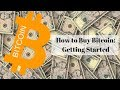 How to Buy Bitcoin: Getting Started