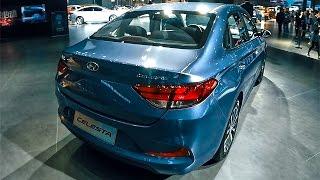 Хендай Солярис С Жопой От Мерседеса! Новая Hyundai Соната 2017
