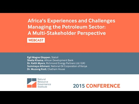 Africa's Experiences and Challenges Managing the Petroleum Sector: A Multi-Stakeholder Perspective