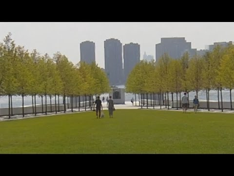 Four Freedoms Park On Roosevelt Island In New York City