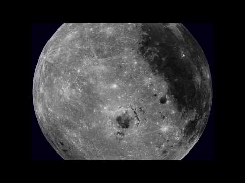 Rotating Moon from LRO