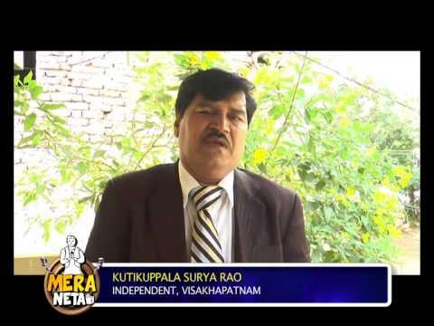 Kutikuppala Surya Rao, Independent || Visakhapatnam, Andhra Pradesh