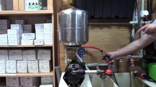 Kontrola a údržba přetlaku vzduchu v tlakové nádobě