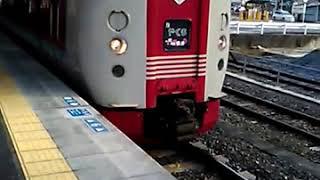 サンライズ出雲91号(285系電車I1編成) 備中高梁停車