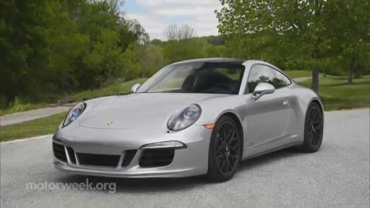 Motorweek Road Test 2015 Porsche 911 Carrera 4 Gts Coupe Youtube