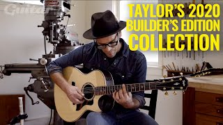 NAMM 2020: Taylor Builder's Edition 816ce, 324ce, 912ce & 652ce demo with Andy Powers