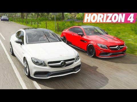 Mercedes C63 S Coupe İle Gazlama | Forza Horizon 4 thumbnail