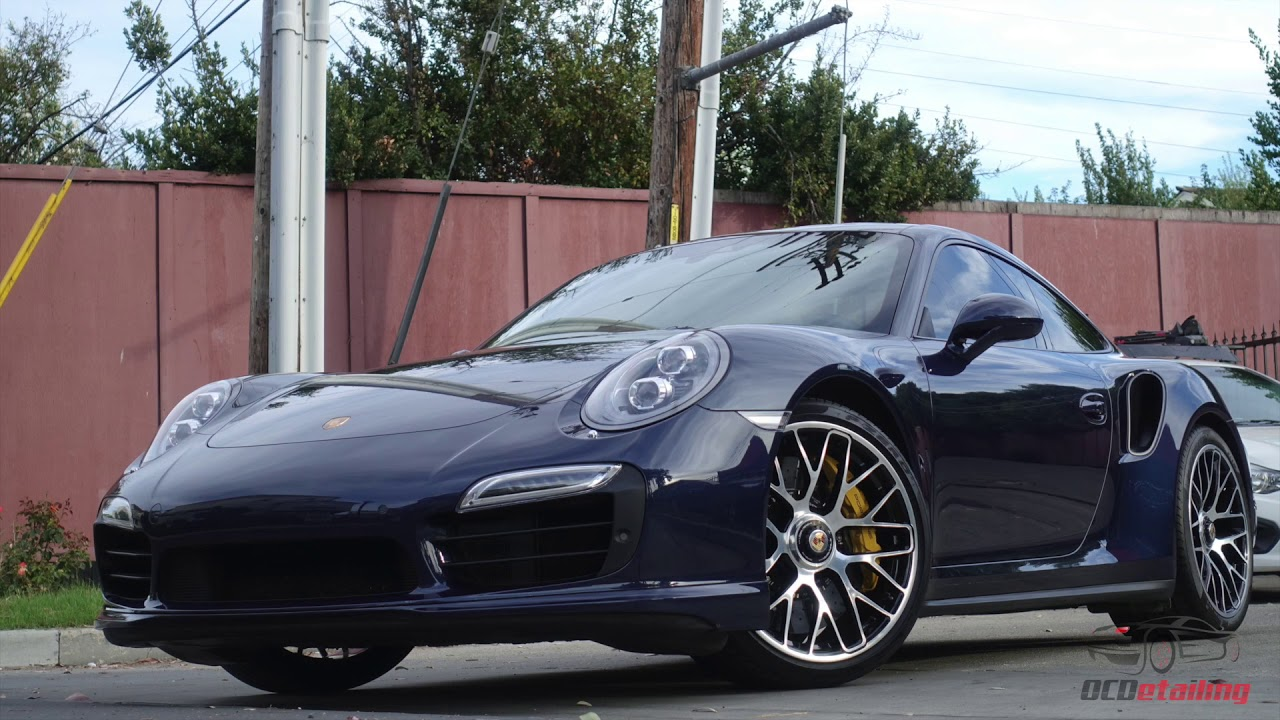 Porsche Blue Graphite Metallic Paint