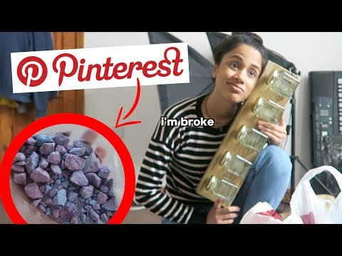 i tried to make a pinterest diy gift | clickfortaz