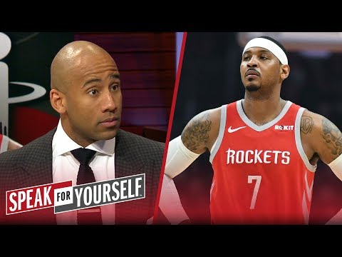 Dahntay Jones on Melo leaving Houston, Butler joining Philly | NBA | SPEAK FOR YOURSELF
