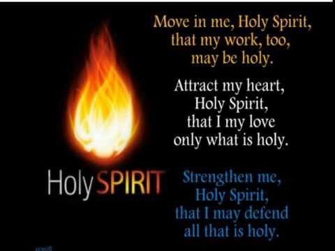 DAY 6 - NOVENA TO THE HOLY SPIRIT