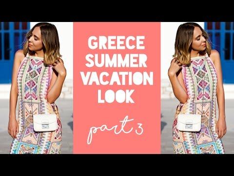 The Perfect Summer Maxi Dress   Greek Summer Vacation Look Part 3