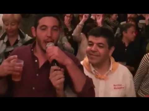 L'Encantada de Montréal d'Aude chanté par les joueurs du club de rugby de Montréal Malepère XV