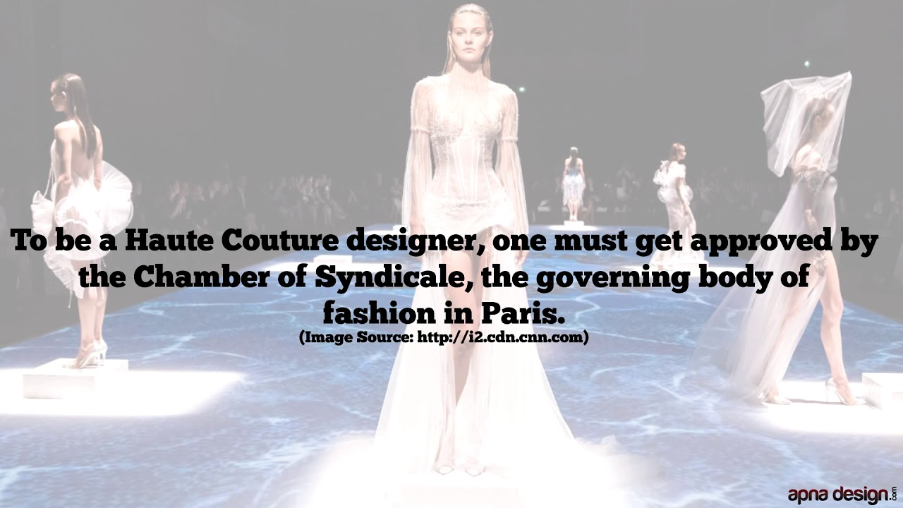 Interesting Facts About Fashion Designing Youtube