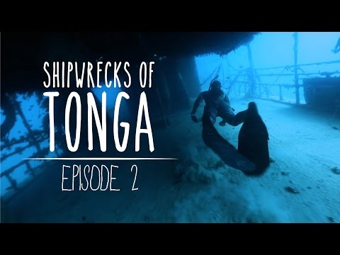 Shipwrecks of Tonga - Freediving Adventures on Pangaimoto Island (Underwater Ally Adventures) Ep.2