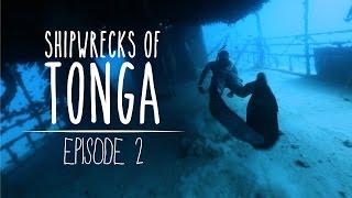 Shipwrecks of Tonga - Freediving Adventures on Pangaimoto Island (Underwater Ally Adventures) Ep.2