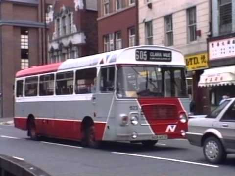 NEWCASTLE BUSES 1990
