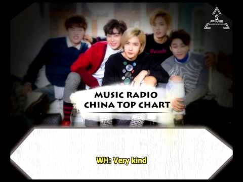 [ENGSUB] 150617 UNIQ Music Radio China  Top Chart
