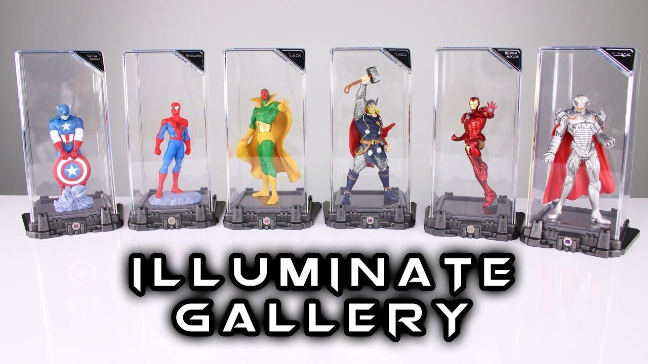 Marvel Vision Super Hero Illuminate Gallery Statue