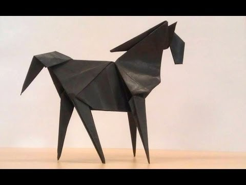 How To Make An Origami Horse