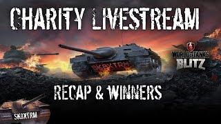 Charity Livestream Recap, Highlights & Winners