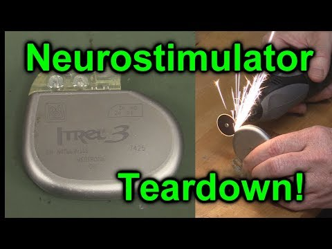 EEVblog #1027 -  Implantable NeuroStimulator Teardown