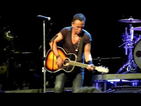 Terry's Song - Bruce Springsteen - Perth Arena 8-2-14