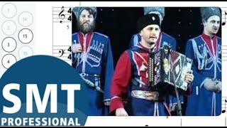 Как играть на гармони Когда мы были на войне | How to play on accordion | SMT Pro