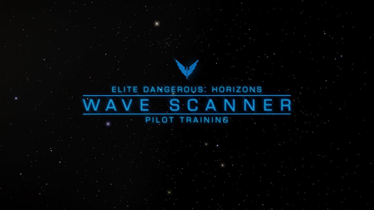 Wave Scanner - Elite Dangerous: Horizons Pilot Training