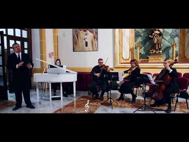 🤵🎻 🎹 Tenor, Trio de Cuerda y Colin Blanco | Vivo po Ella | Cantante Bodas | Pianista Bodas