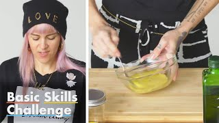 50 People Try to Make a Vinaigrette Dressing | Epicurious