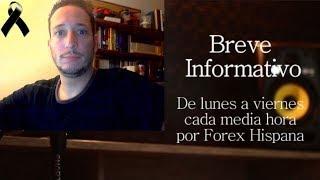 Breve Informativo - Noticias Forex del 12 de Octubre 2018