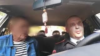 в Севастополе бухой дед попался гаишникам