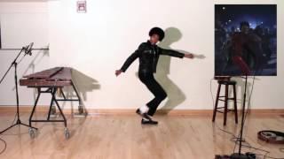 MJ's THRILLER + Looping + Ukulele + Xylophone + Dancing + Singing