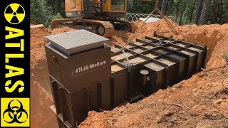 Installing a Wildfire Bunker