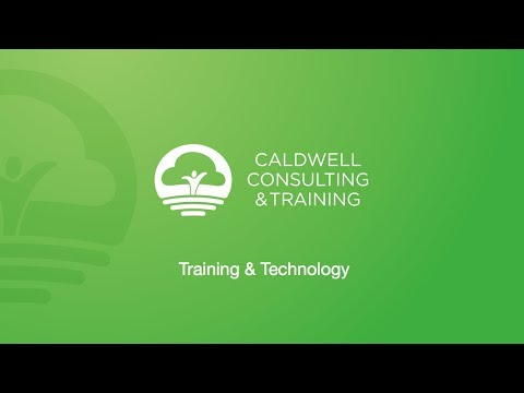 Caldwell Consulting & Training, Training & Technology