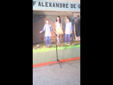 Peça teatral na escola Alexandre de Gusmão